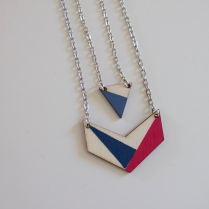 "Double collier ""Tina"""