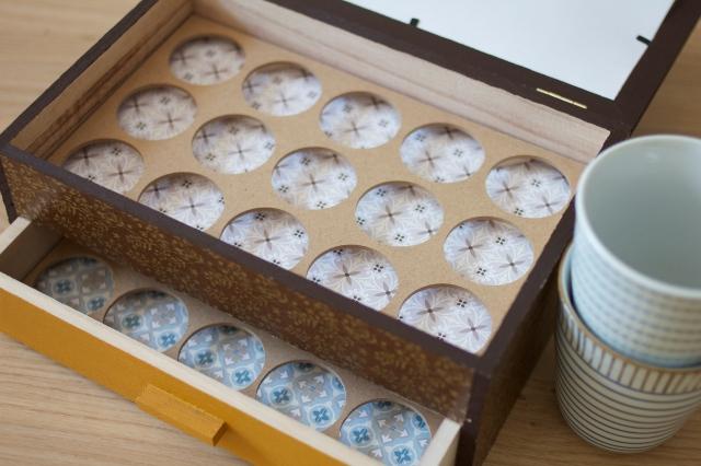 Boîte à capsules Artemio
