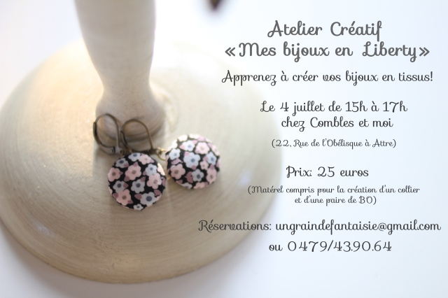 second atelier juillet 2015